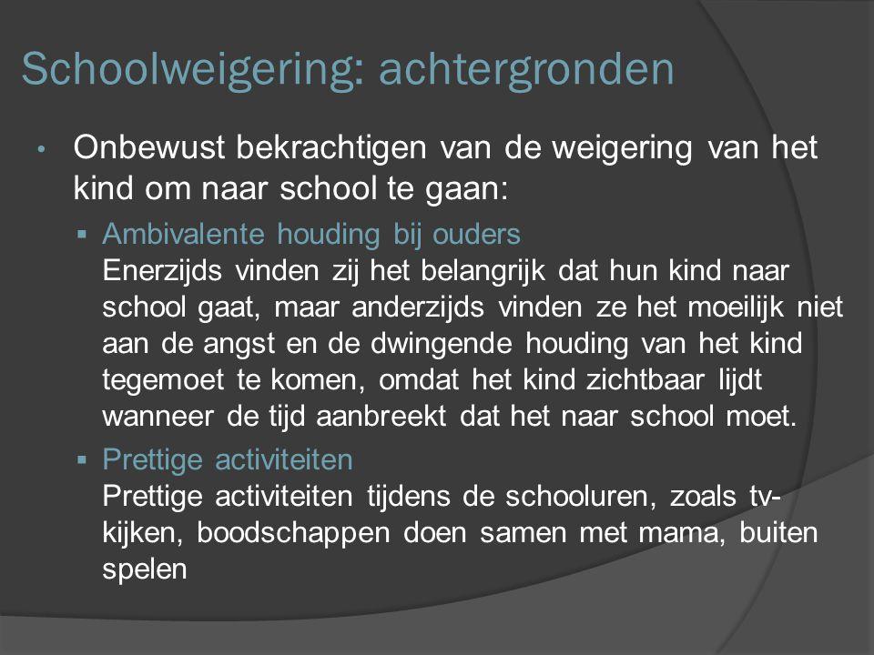 Schoolweigering: achtergronden