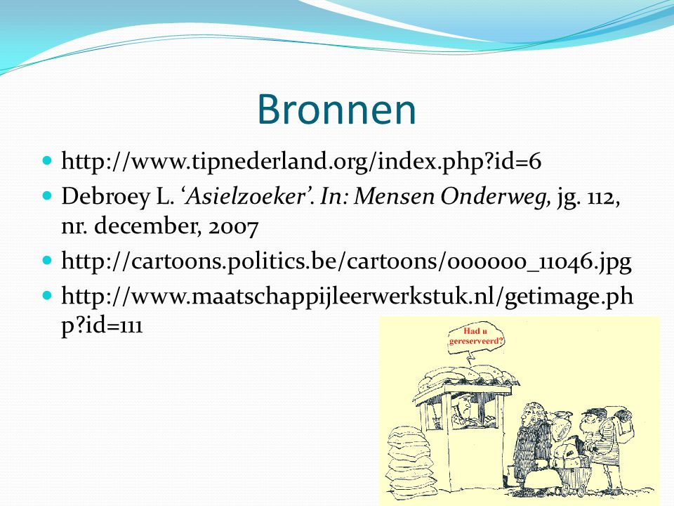 Bronnen http://www.tipnederland.org/index.php id=6