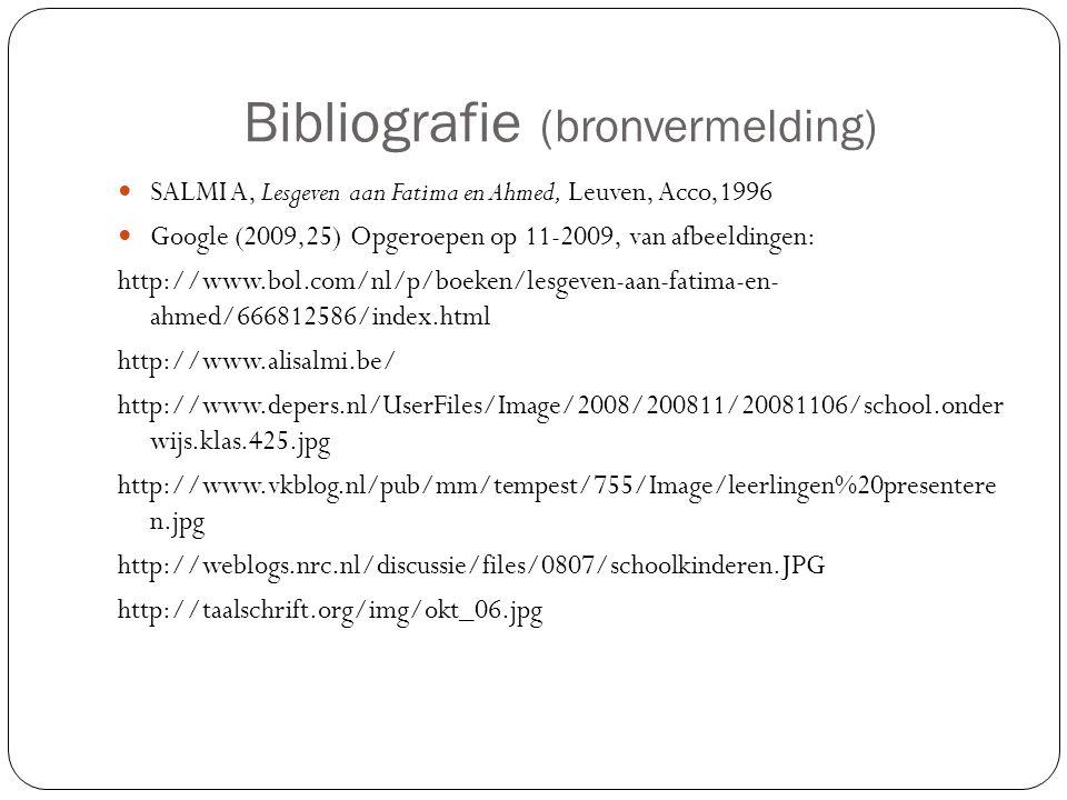 Bibliografie (bronvermelding)