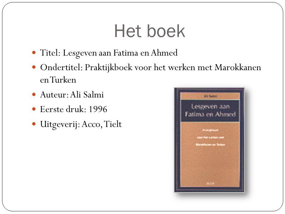 Het boek Titel: Lesgeven aan Fatima en Ahmed
