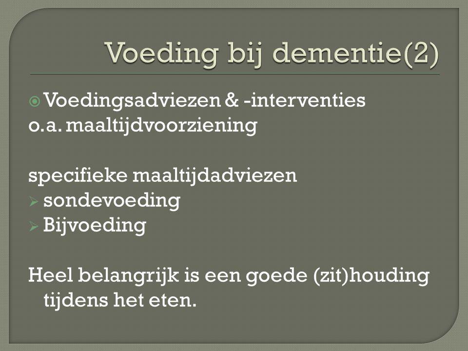 Voeding bij dementie(2)