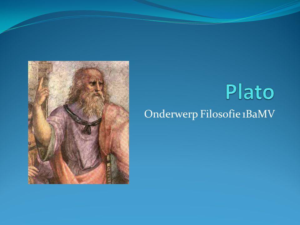 Onderwerp Filosofie 1BaMV