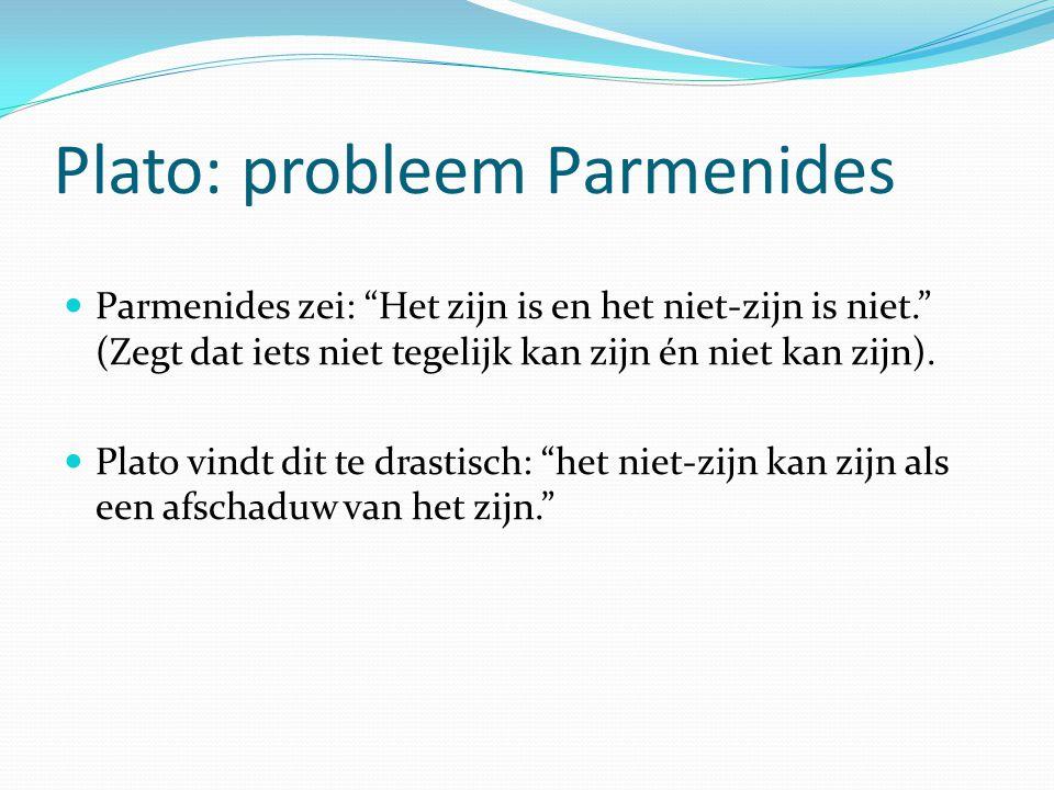 Plato: probleem Parmenides
