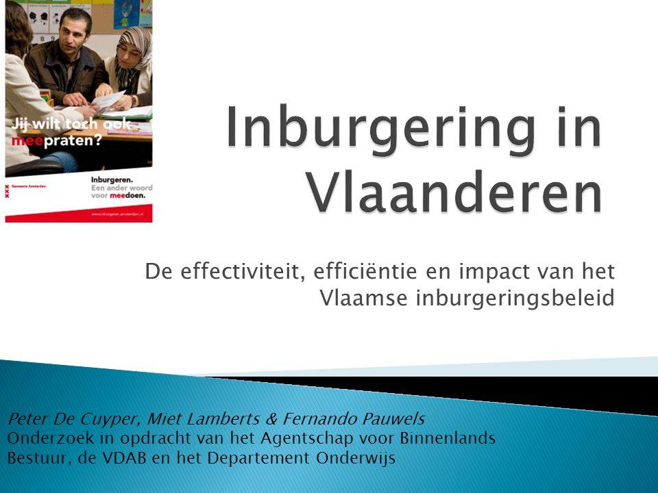 Inburgering in Vlaanderen