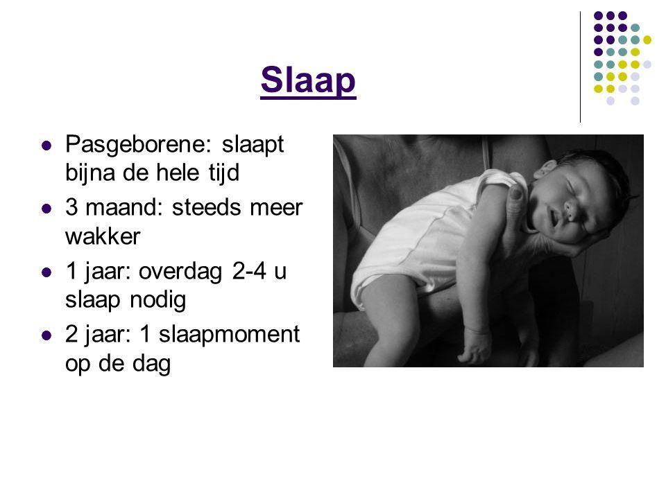 Slaap Pasgeborene: slaapt bijna de hele tijd