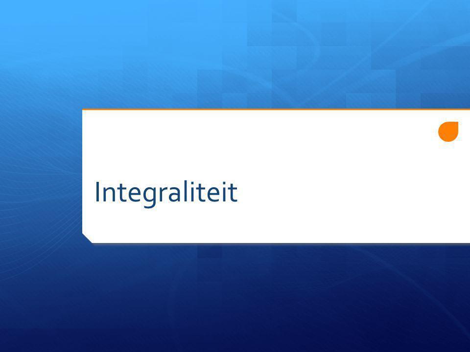 Integraliteit
