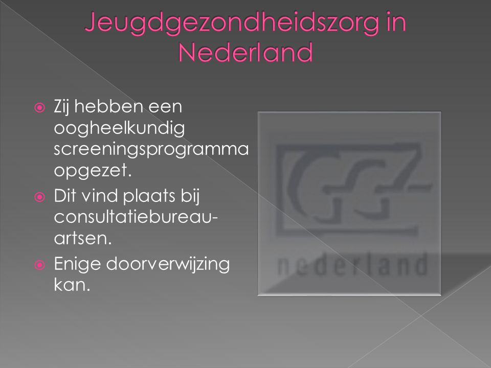 Jeugdgezondheidszorg in Nederland