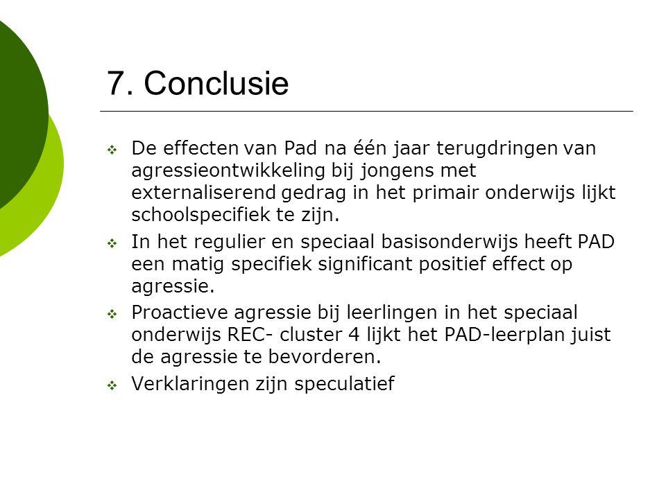 7. Conclusie
