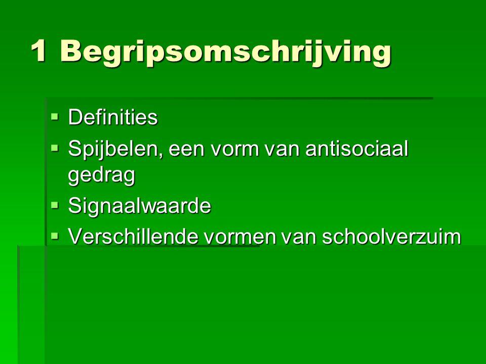 1 Begripsomschrijving Definities