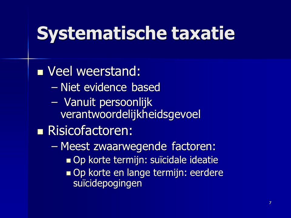Systematische taxatie