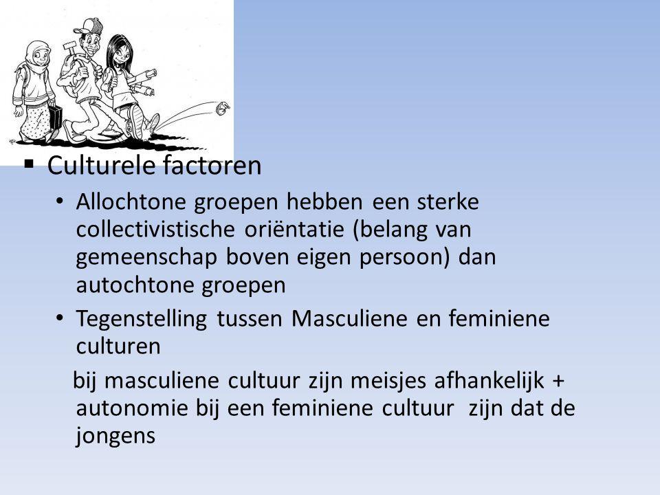 Culturele factoren