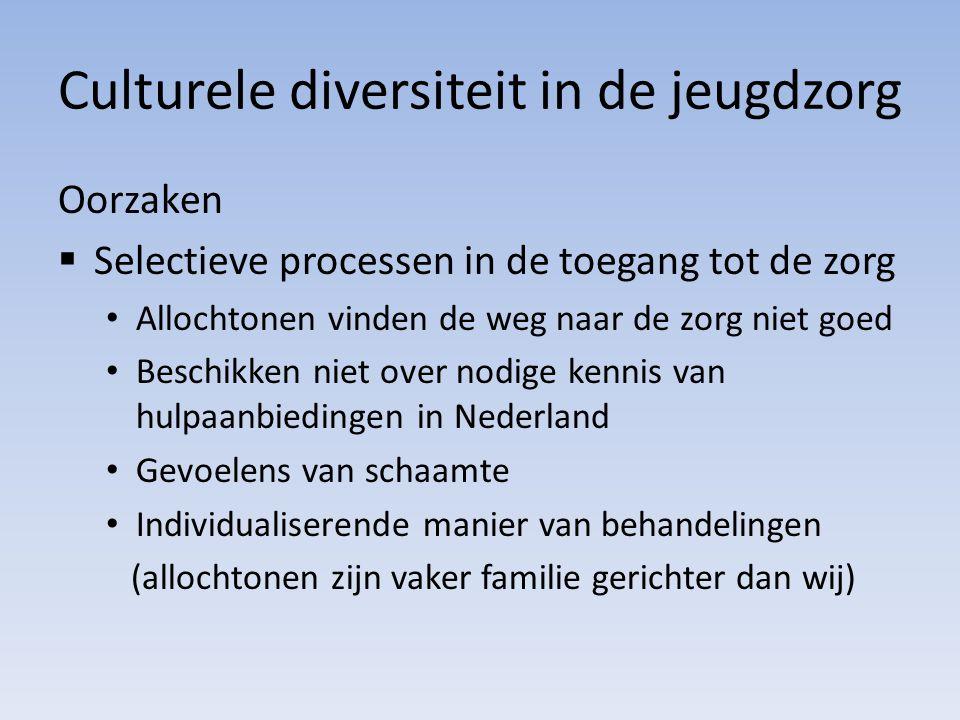 Culturele diversiteit in de jeugdzorg