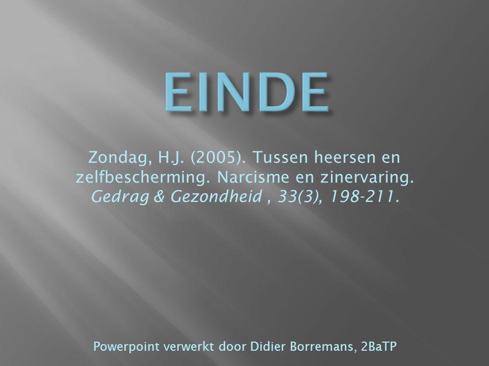 Powerpoint verwerkt door Didier Borremans, 2BaTP