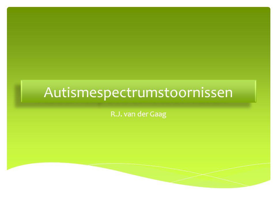 Autismespectrumstoornissen