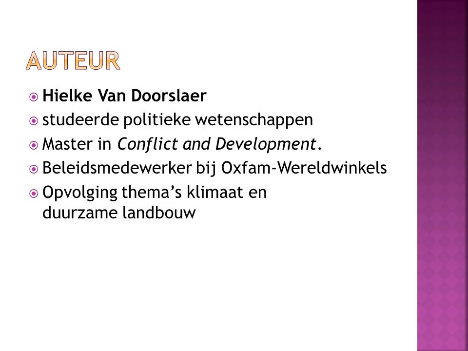 Auteur Hielke Van Doorslaer studeerde politieke wetenschappen
