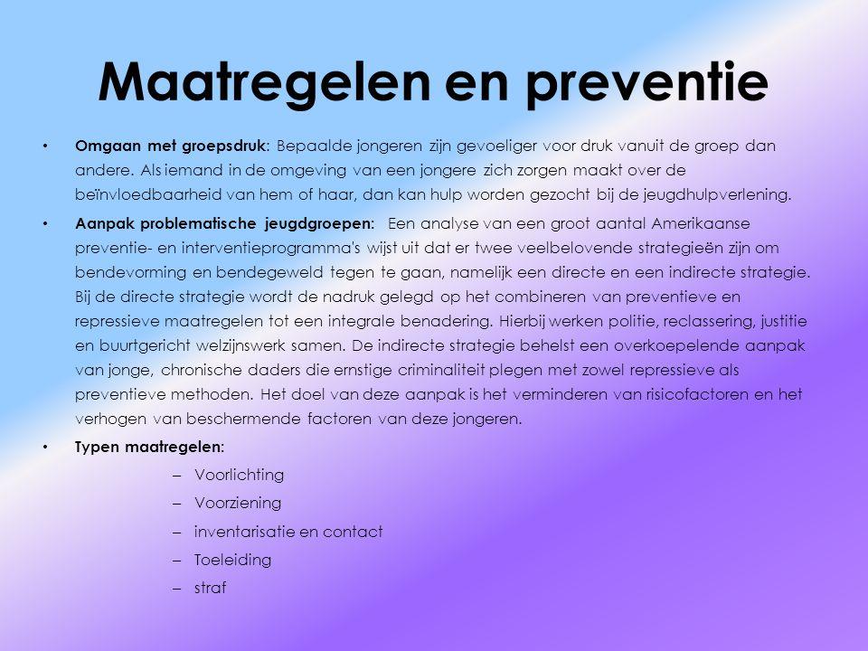 Maatregelen en preventie