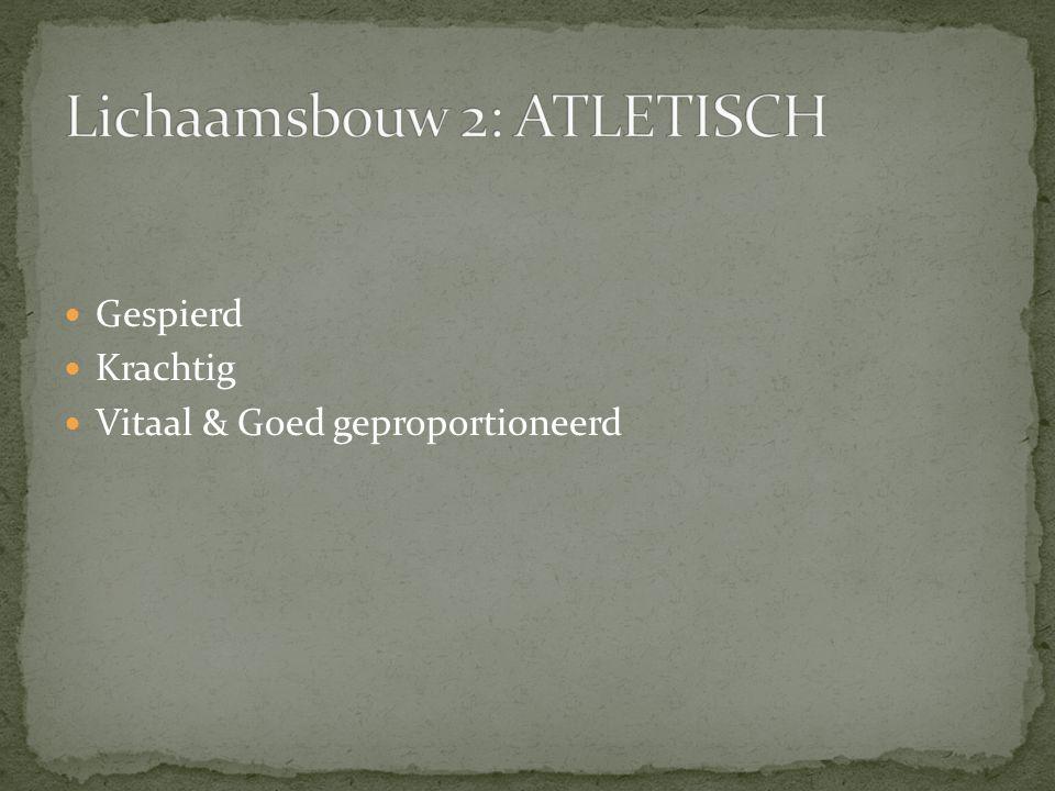 Lichaamsbouw 2: ATLETISCH