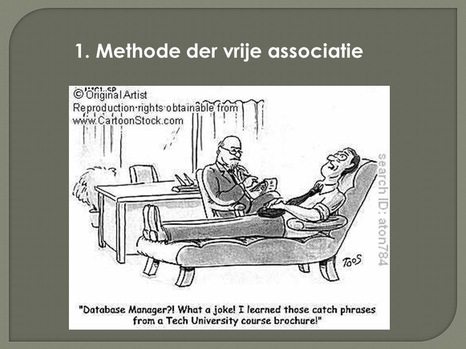 1. Methode der vrije associatie