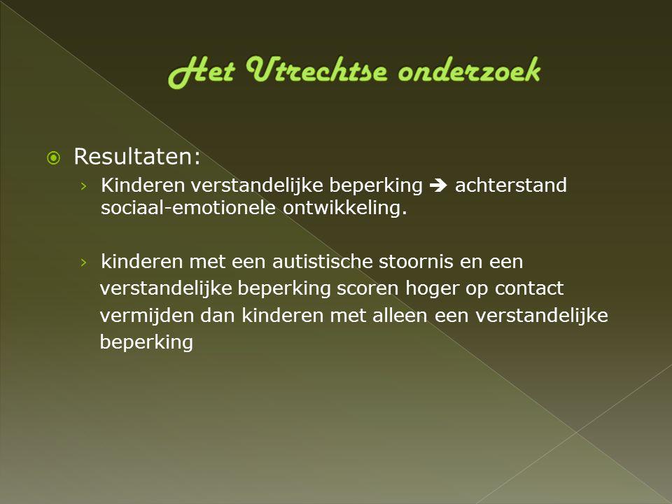 Het Utrechtse onderzoek