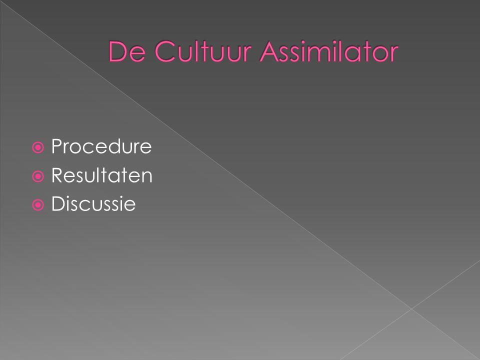 De Cultuur Assimilator