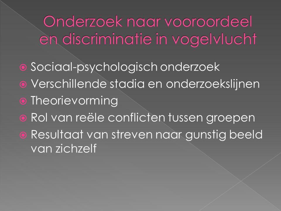 Onderzoek naar vooroordeel en discriminatie in vogelvlucht