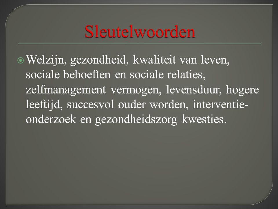 Sleutelwoorden