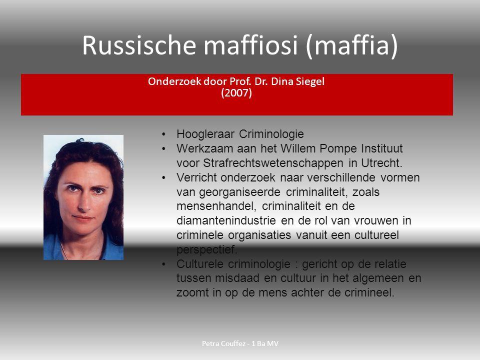Russische maffiosi (maffia)
