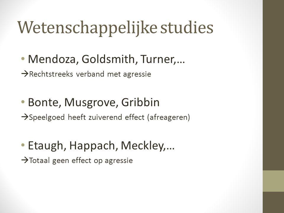Wetenschappelijke studies