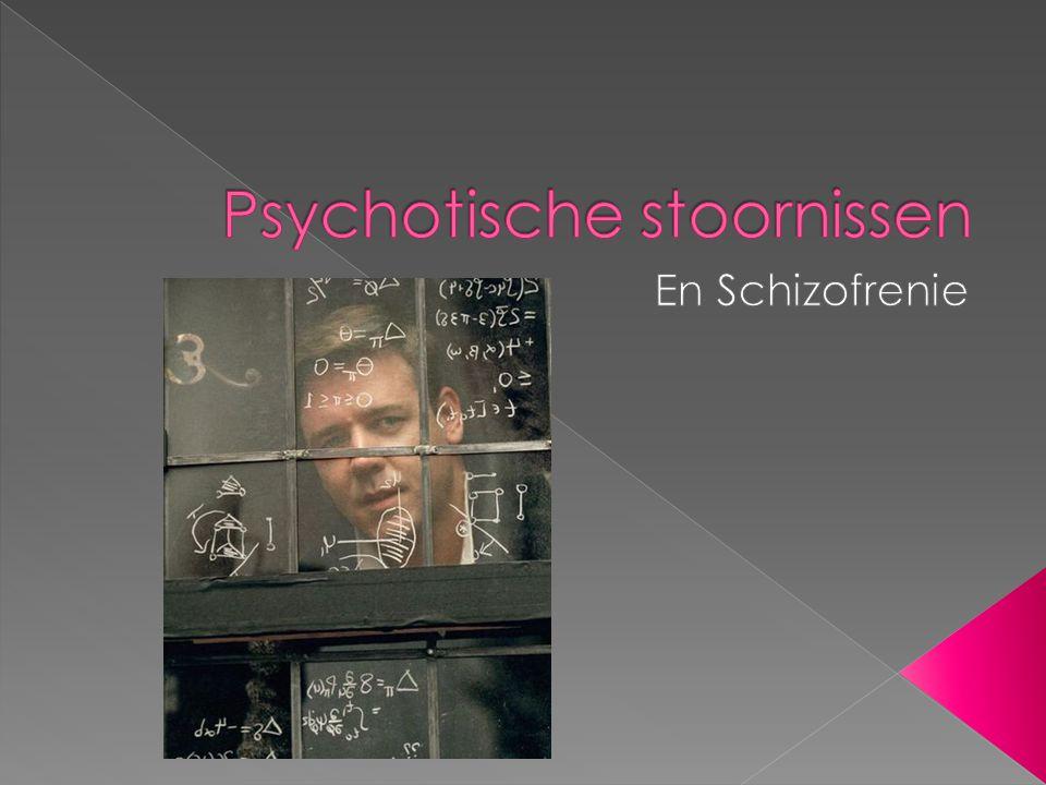 Psychotische stoornissen