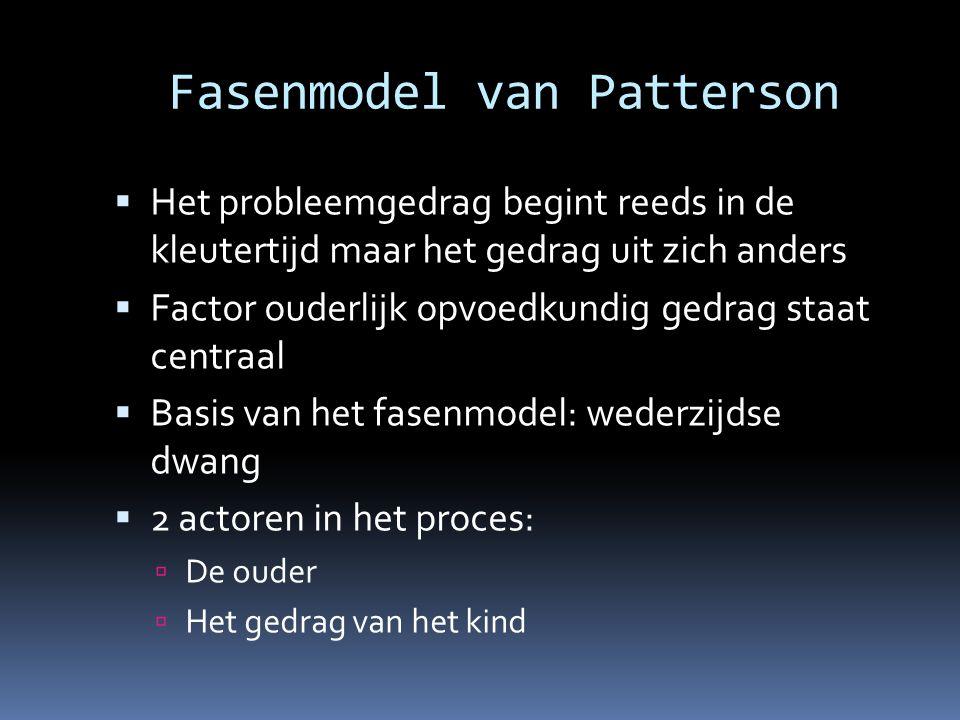 Fasenmodel van Patterson