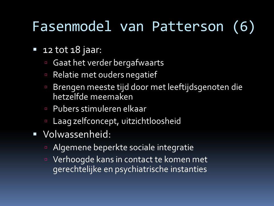 Fasenmodel van Patterson (6)