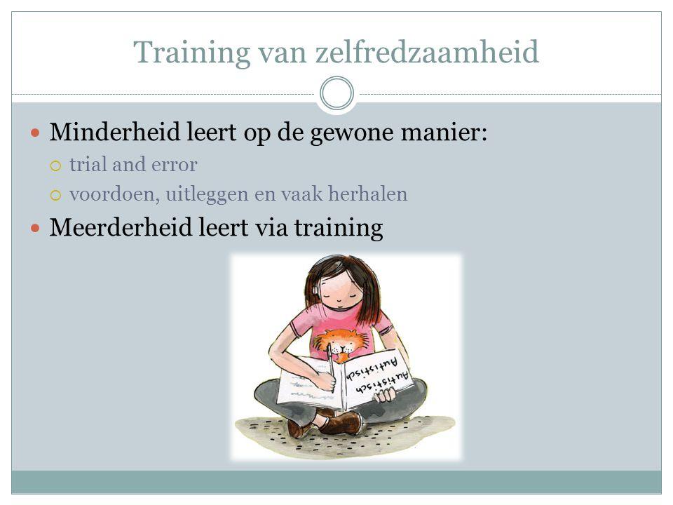 Training van zelfredzaamheid