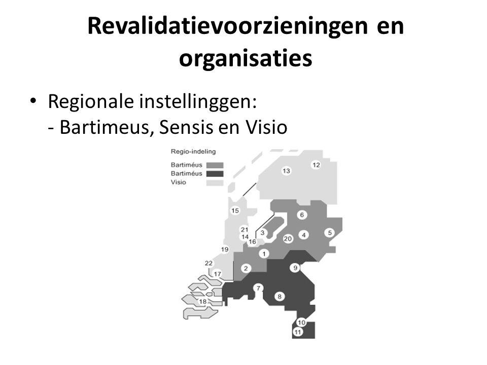 Revalidatievoorzieningen en organisaties