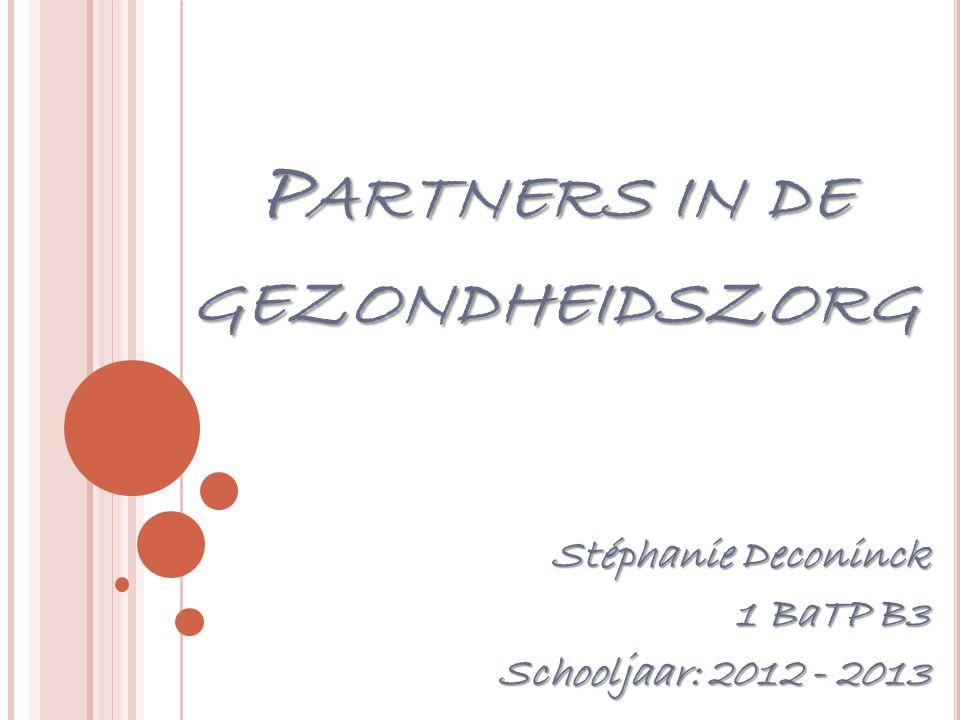Partners in de gezondheidszorg