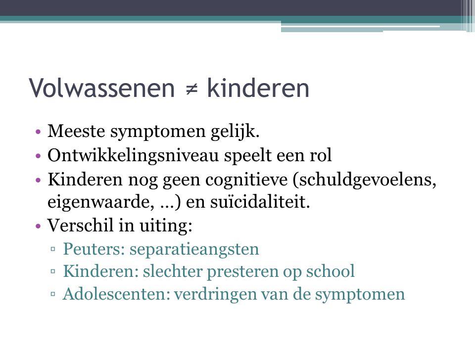 Volwassenen ≠ kinderen
