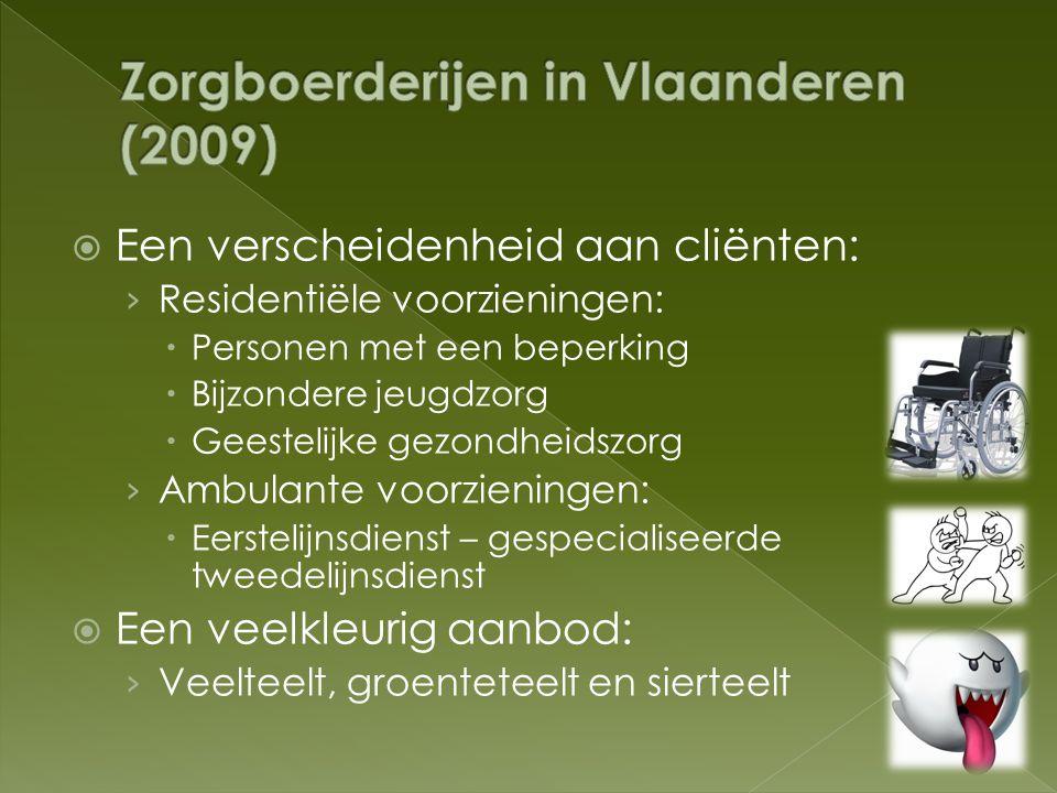 Zorgboerderijen in Vlaanderen (2009)