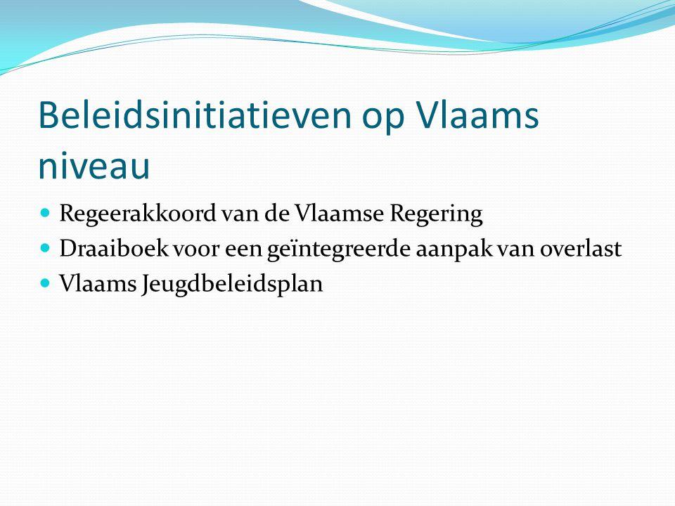 Beleidsinitiatieven op Vlaams niveau