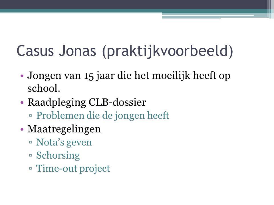Casus Jonas (praktijkvoorbeeld)