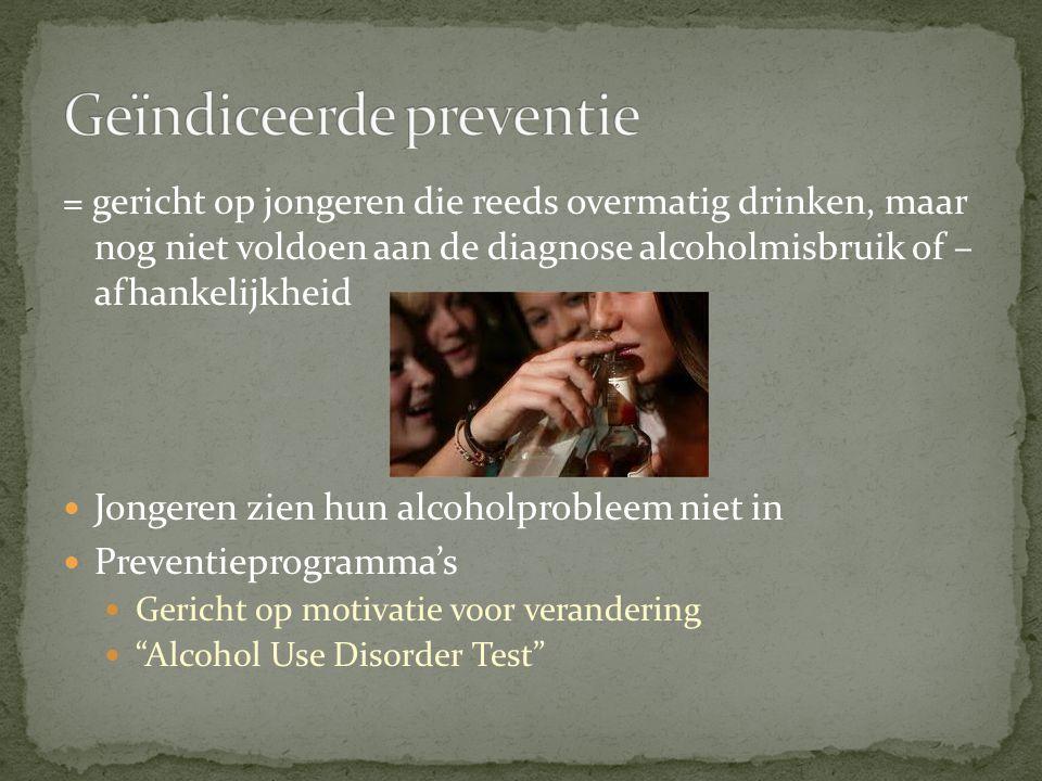Geïndiceerde preventie