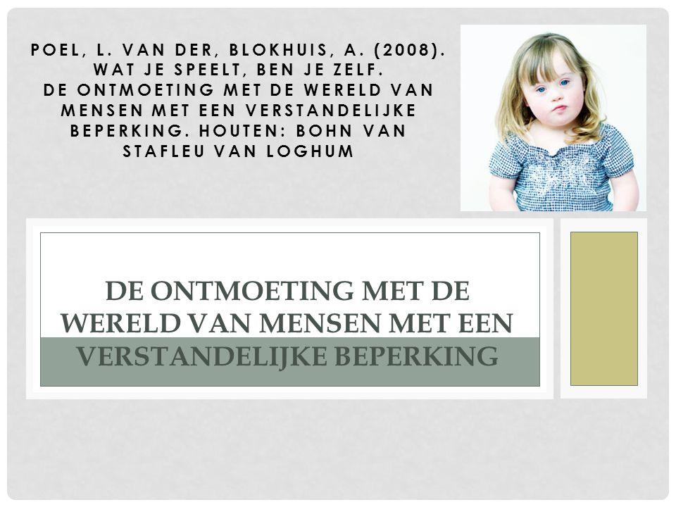 Poel, L. van der, Blokhuis, A. (2008). Wat je speelt, ben je zelf