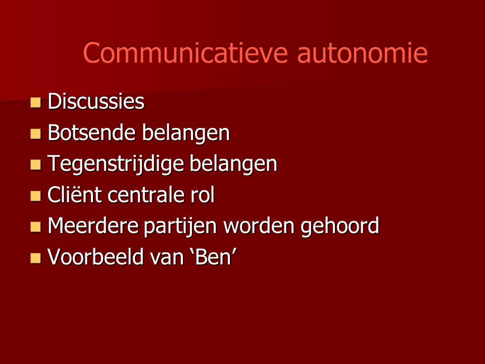 Communicatieve autonomie