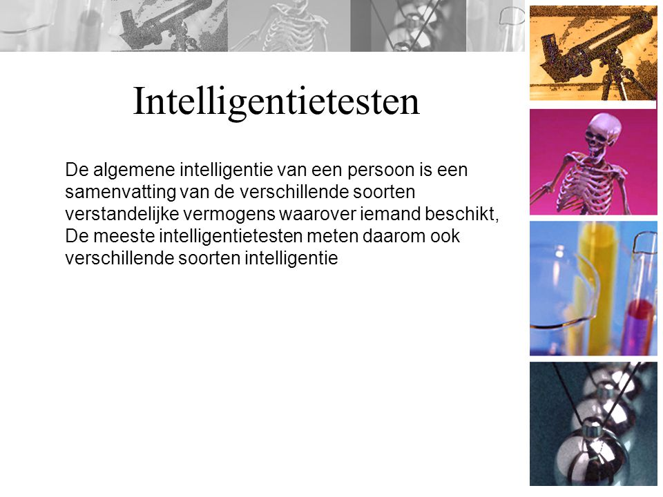 Intelligentietesten