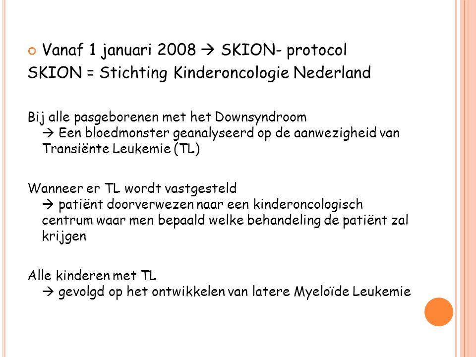 Vanaf 1 januari 2008  SKION- protocol