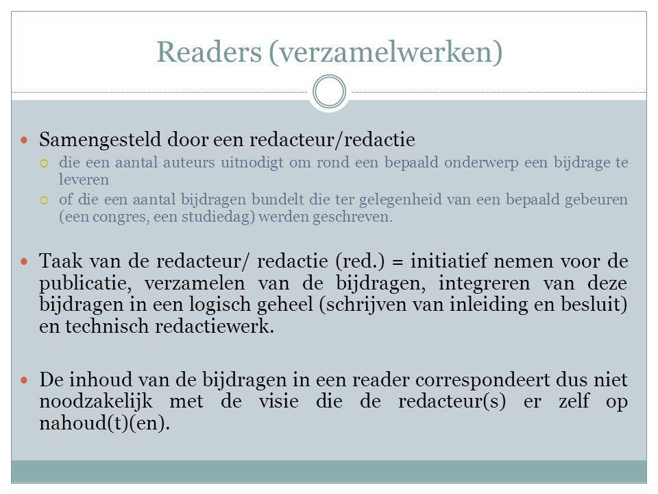 Readers (verzamelwerken)