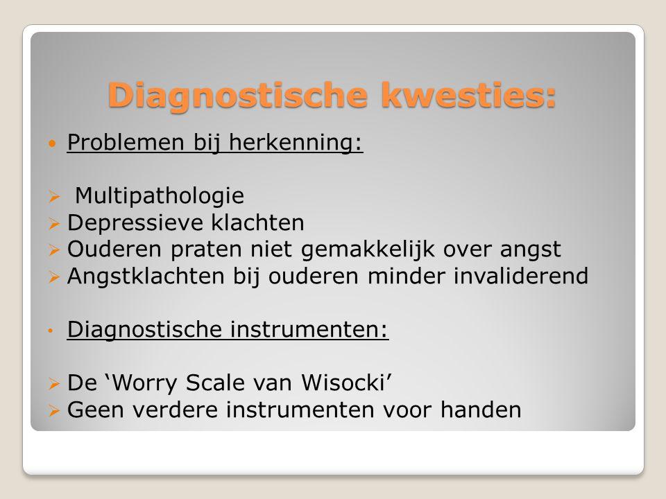 Diagnostische kwesties: