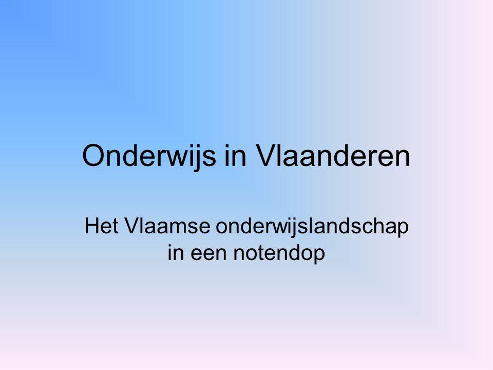 Onderwijs in Vlaanderen