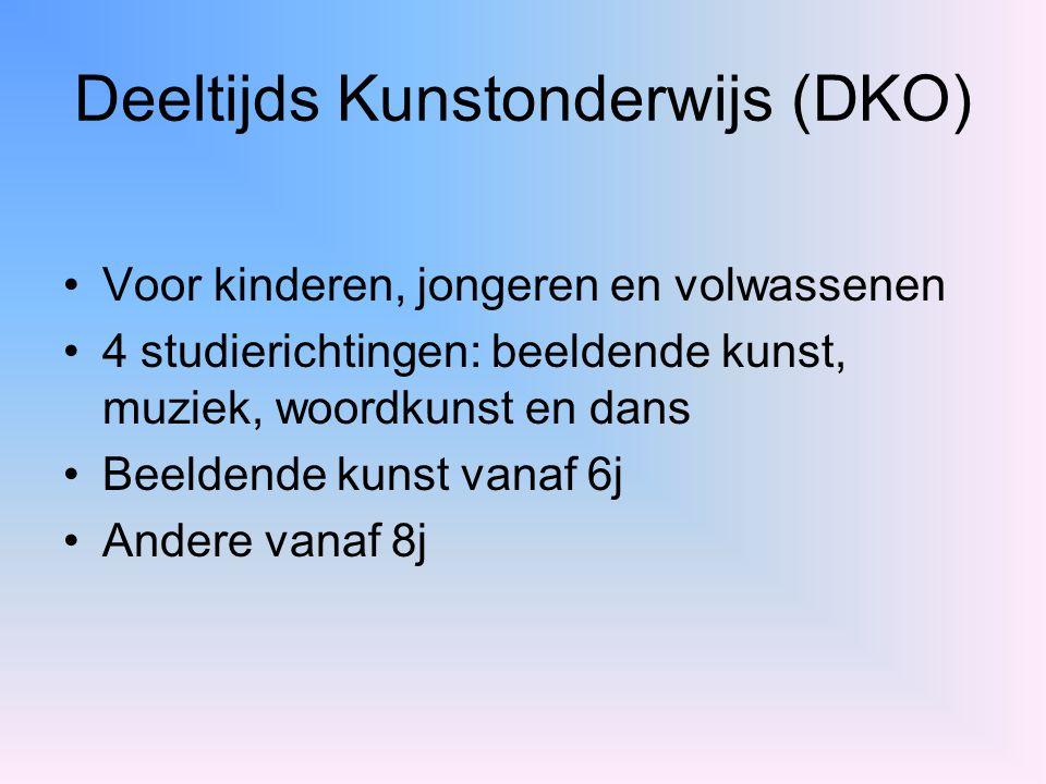 Deeltijds Kunstonderwijs (DKO)