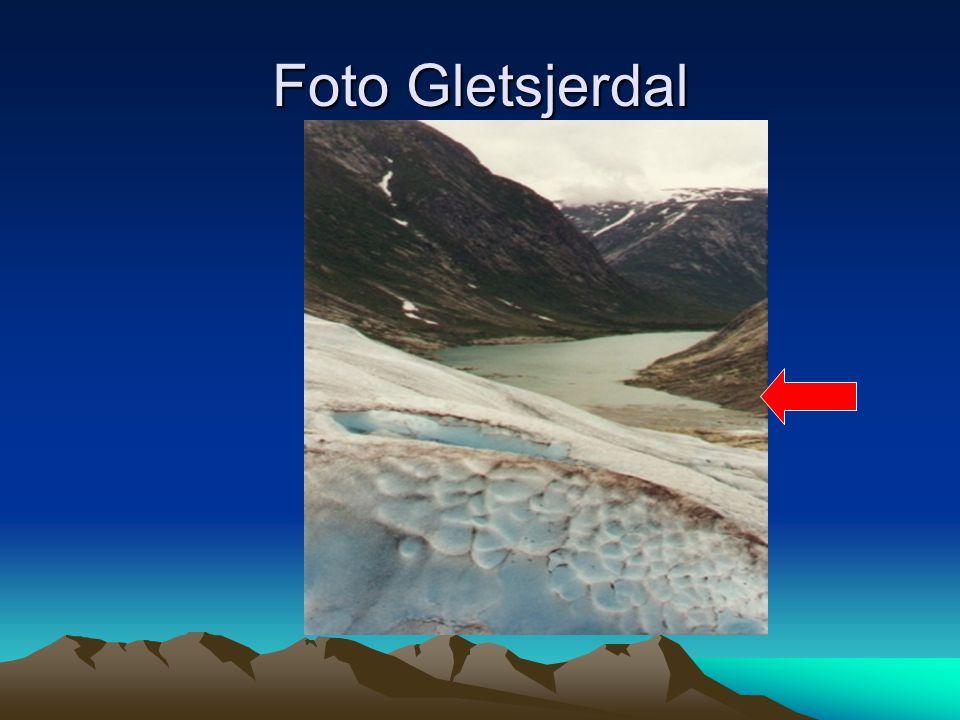 Foto Gletsjerdal