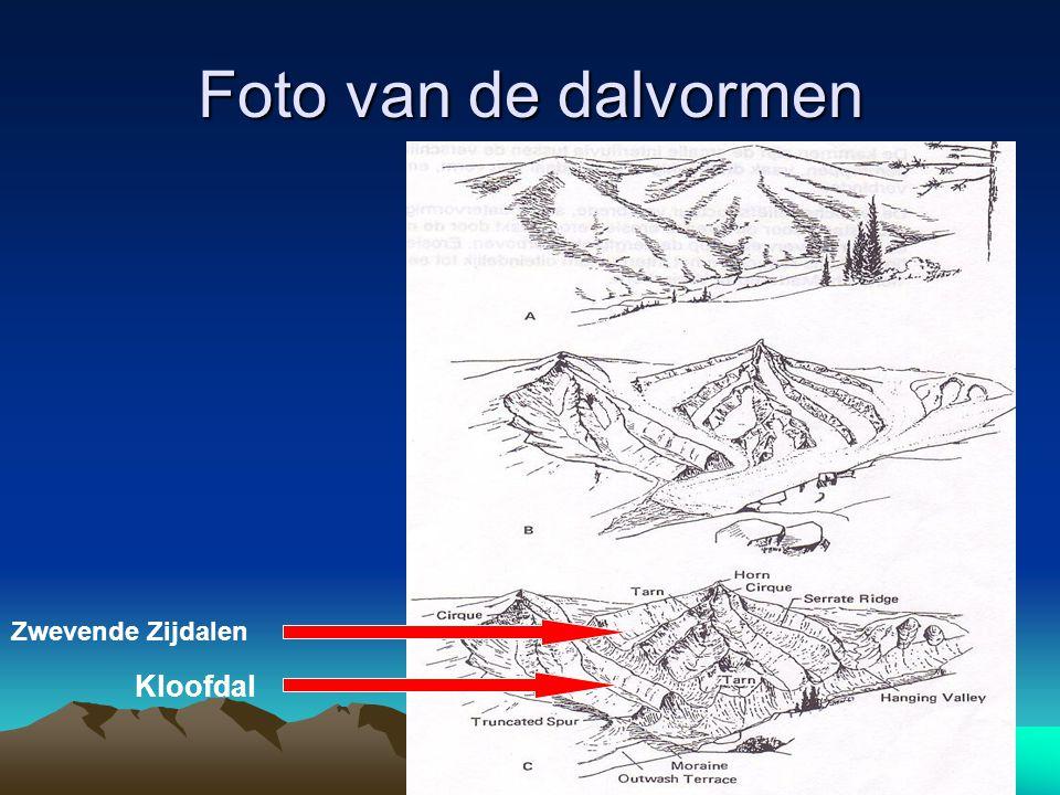 Foto van de dalvormen Zwevende Zijdalen Kloofdal