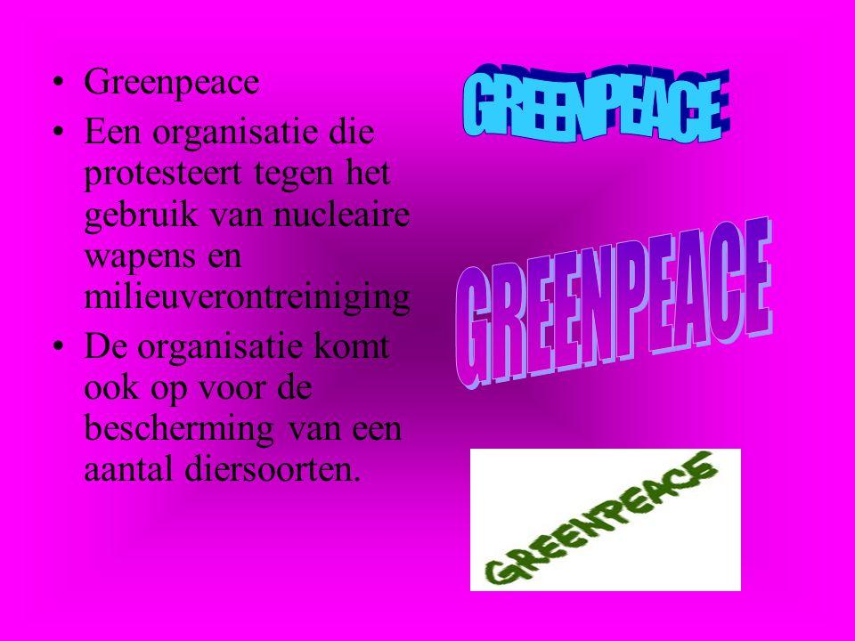 GREENPEACE GREENPEACE Greenpeace